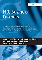 HR business partners : emerging service delivery models for the HR function
