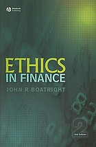 Ethics in finance