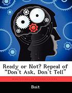 Ready or not? : repeal of