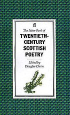 The Faber book of twentieth-century Scottish poetry