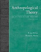 Anthropological theory : an introductory history