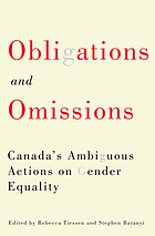 Obligations and omissions : Canada's ambiguous actions on gender equality