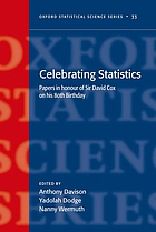 Celebrating Statistics : Papers in honour of Sir David Cox on his 80th birthday.