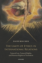 The limits of ethics in international relations : natural law, natural rights, and human rights in transition
