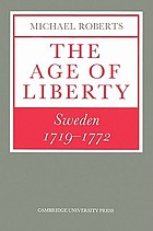 The age of liberty Sweden 1719-1772