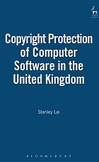 The copyright protection of computer software in the United Kingdom.