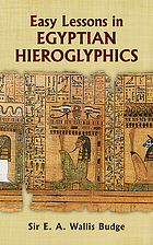 Egyptian language : easy lessons in Egyptian hieroglyphics