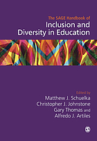 The SAGE handbook of inclusion and diversity in education