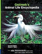Grzimek's Animal life encyclopedia / Birds / Bernhard Grzimek. I, Tinamous and ratites to Hoatzins / Donna Olendorf, project ed. ; Joseph E. Trumpey, chief scientific ill.