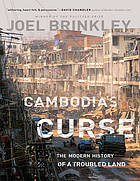 Cambodia's curse [text (large print)] : the modern history of a troubled land