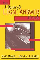 The library's legal answer book