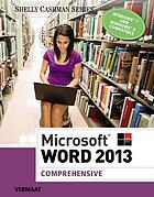 Microsoft Word 2013 : comprehensive