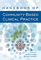 Handbook of community based clinical practice