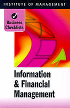 Information & financial management.