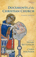 Documents of the Christian Church.