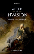 After the invasion : a reading of Jeremiah 40-44