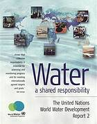 Water : a shared responsibility