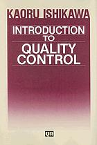 Introduction to quality control