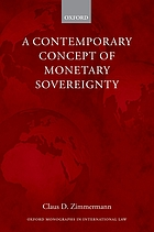 A contemporary concept of monetary sovereignty