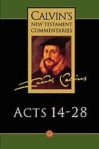 The acts of the apostles 14-28. 7