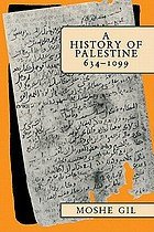 A history of Palestine : 634-1099