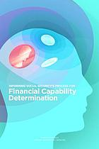 Informing Social Security's process for financial capability determination
