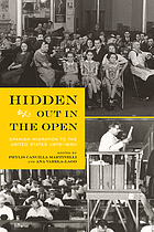 Hidden out in the open : Spanish migration to the United States (1875-1930)