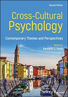 Cross-cultural psychology : contemporary themes and perspectives