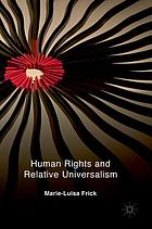 Human rights and relative universalism