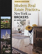 Modern real estate practice in New York for brokers