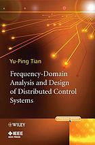 Frequency-domain analysis and design of distributed control systems