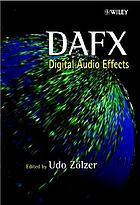 DAFX : digital audio effects