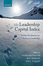 The leadership capital index : a new perspective on political leadership