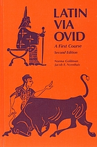 Latin via Ovid : a first course