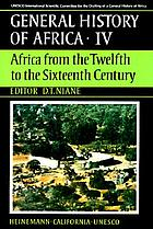 Africa from the twelfth to the sixteenth century
