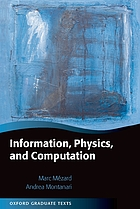 Information, physics and computation