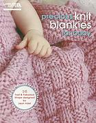 Precious knit blankies for baby.