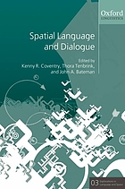 Spatial language and dialogue