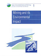 Mining and its Environmental Impact.