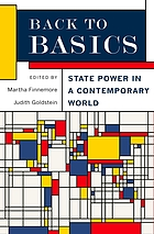 Back to basics : state power in a contemporary world