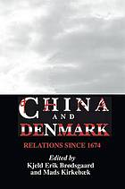 China and Denmark : relations since 1674