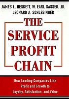 The service profit chain : how leading companies link profit and growth to loyalty, satisfaction, and value