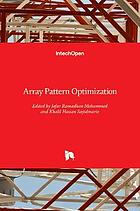 Array pattern optimization