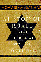 A history of Israel : from the rise of Zionism to our time