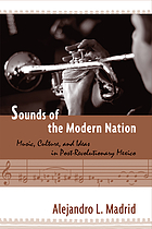 Sounds of the modern nation : music, culture, and ideas in post-revolutionary Mexico