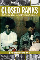 Closed ranks : the Whitehurst case in post-civil rights Montgomery