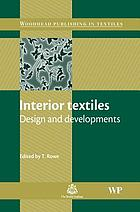 Interior textiles : design and developments