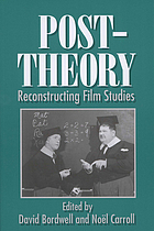 Post-theory : reconstructing film studies