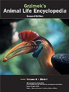 Cover of Grzimek's Animal Life Encyclopedia Vol. 8-11