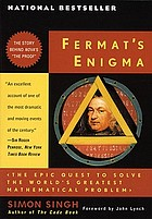 Fermat's enigma : the epic quest to solve the world's greatest mathematical puzzle